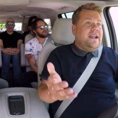 Los Foo Fighters cantaron sus éxitos en el Carpool Karaoke de James Corden