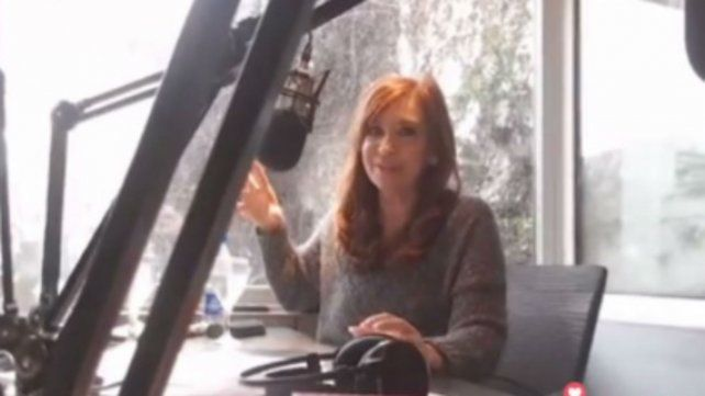 Cristina dijo que el gobierno quiere construir la  figura del enemigo interno