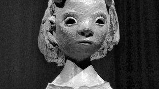 La chica de la leña, del artista cordobés Miguel Ángel Budini.