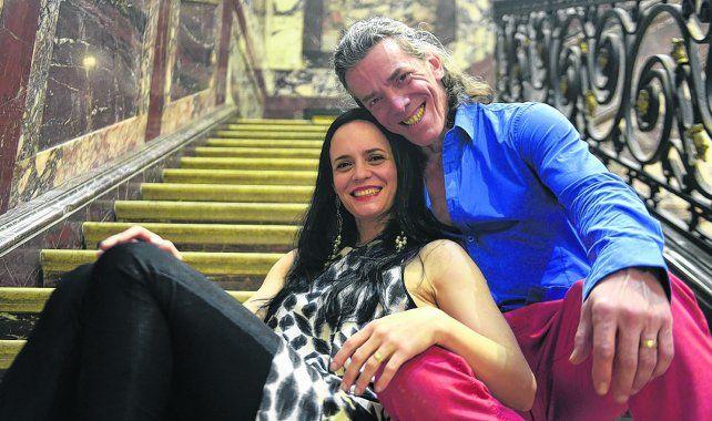 amor a la mexicana. Maximiliano Guerra (Diego Rivera)  y Patricia Baca Urquiza (Frida Kahlo)