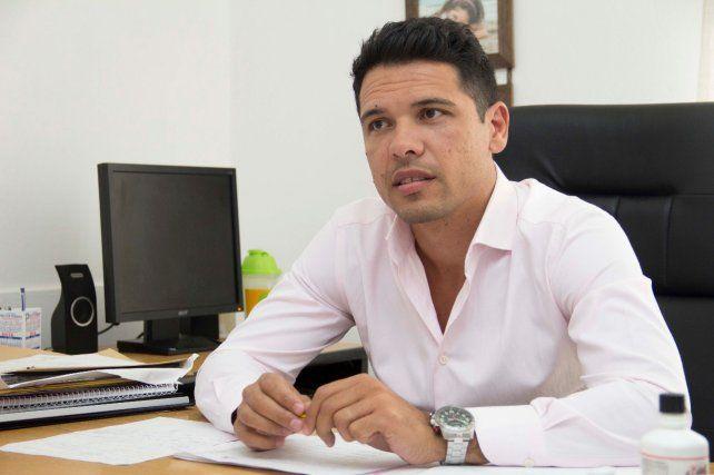 El intendente de Funes