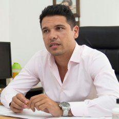 El intendente de Funes, Diego León Barreto.