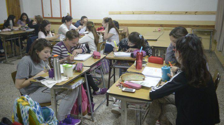 En la institución se dictan los profesorados de educación secundaria en geografía y ciencias de la administración.