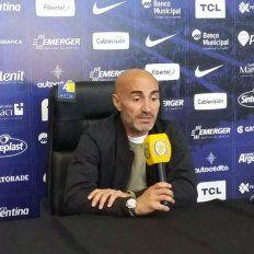Montero dijo que es bueno para Central que Boca les toque en un buen momento y completo