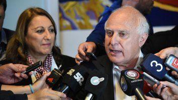 El gobernador Miguel Lifschiz ratificó que la provincia siempre quiso que el clásico se juegue en Rosario.