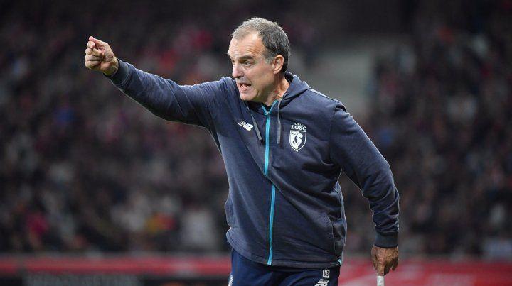 Mal inicio. El Lille de Bielsa volvió a perder y acumula seis partidos sin conocer al victoria.