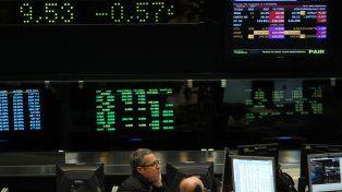 Operaciones. La Bolsa ayer sumó negocios por 733 millones de pesos.