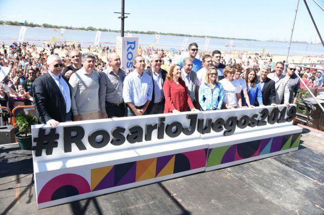 Rosario hizo el lanzamiento oficial de los Juegos Suramericanos de Playa de 2019