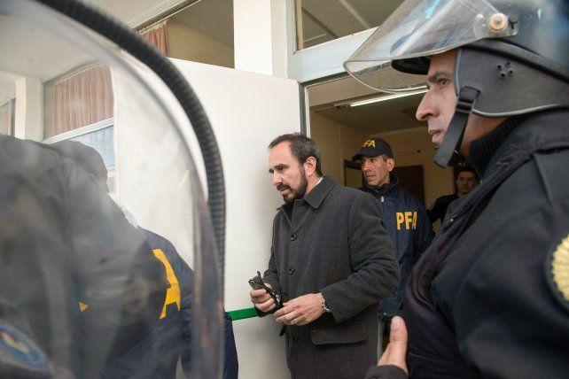 Paso al costado. El juez Guido Otranto fue desplazado porque la familia de Santiago Maldonado lo recusó por temor de parcialidad.