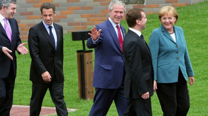 Cumbre en 2008. Cameron
