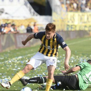 Goleado en casa. Central no pudo frente a Banfield, que lo aplastó por 4-0 en el Gigante.