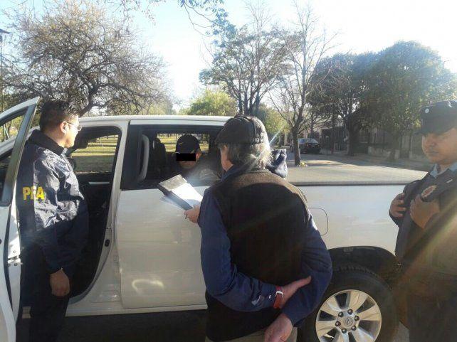 La imagen de la detención.