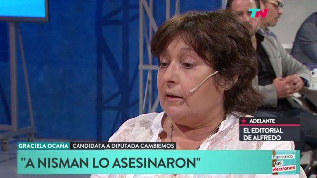 Ocaña defendió la actuación del gobierno nacional en el caso Maldonado