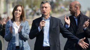Macri estuvo acompañado por la gobernadora Vidal.