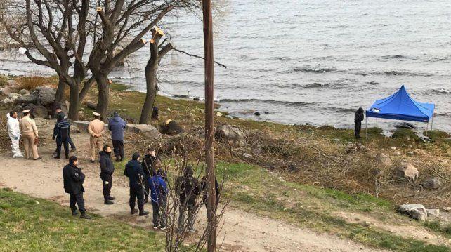 La imagen de la zona donde fue encontrado el cadáver.