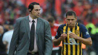 El paraguayo Leguizamón, en la mira de los hinchas por su baja actuación ante Banfield.