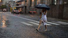 Según el Servicio Meteorológico, las lluvias y tormentas llegarán entre lo que resta de la jornada y la madrugada de mañana.