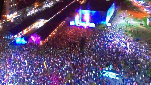 Una multitud acompañó la inauguración oficial del Mercado del Patio