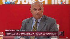 la nueva pericia por la muerte de nisman no es un triunfo para nosotros, dijo el fiscal rivolo