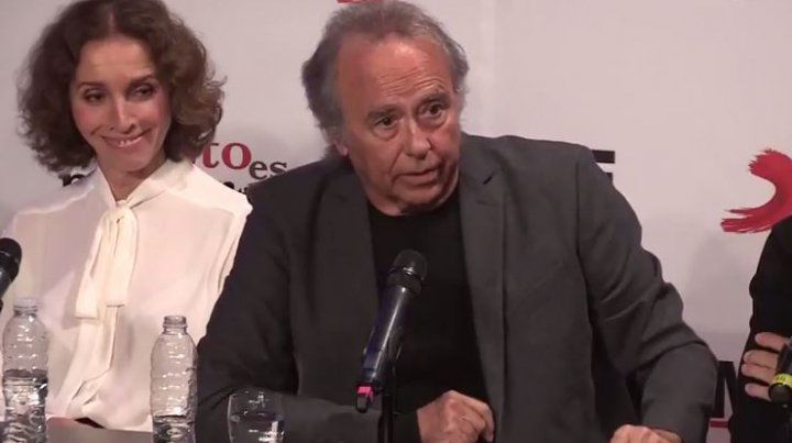 Los que me acusan de fascista desconocen el fascismo, afirmó Serrat en Buenos Aires