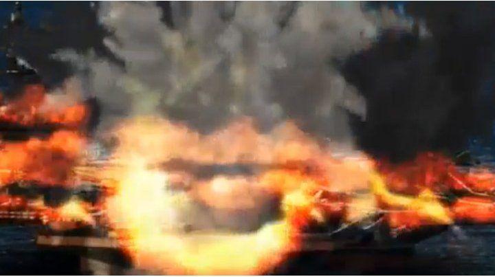 El video con el que Kim Jong-un amenaza a Estados Unidos con un ataque destructivo