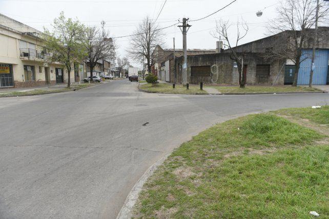 La esquina de Saavedra y Cafferata