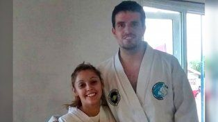 Daniel Zalazar junto a Lorena Arias, a quien asesinó cuando le hizo un reclamo de paternidad.