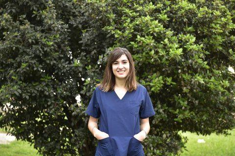 Perseverante. Florencia llegó hace cinco años a Rosario desde Entre Ríos a estudiar medicina.