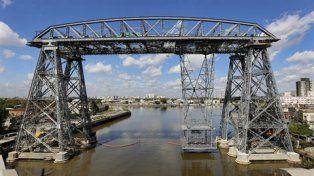 postal. El puente sobre el Riachuelo es un ícono porteño.