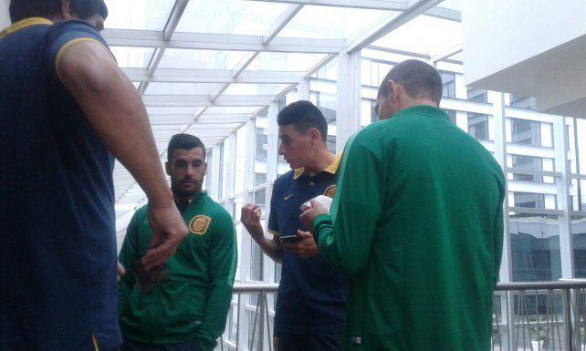 Montero se inclinó por Herrera para acompañar a Ruben esta noche ante Boca