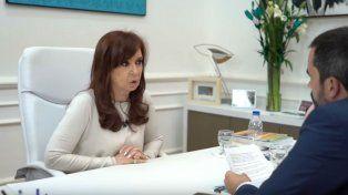 La expresidenta Cristina Fernández de Kirchner habló con el diario El Páis de España.