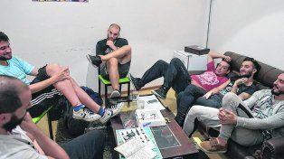salta la banca. El grupo suspendió un recital en La Plata.