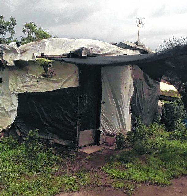 marginalidad. La precaria vivienda de Villa Sur