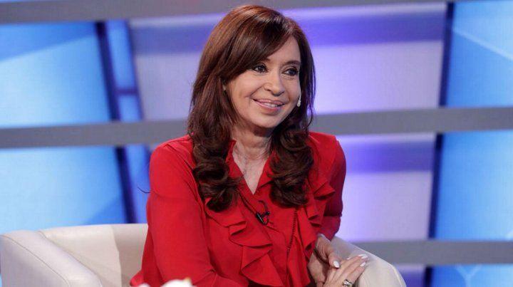 La expresidenta fue entrevistada por el periodista Chiche Gelblung en Crónica TV.