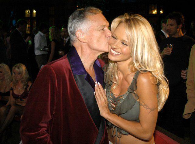 Pamela Anderson publicó un desgarrador video tras enterarse de la muerte de Hugh Hefner