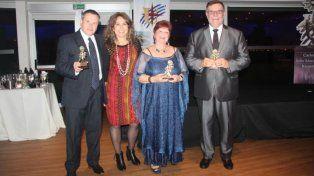 Distinguieron con el Premio Sol al representante de La Capital en Uruguay