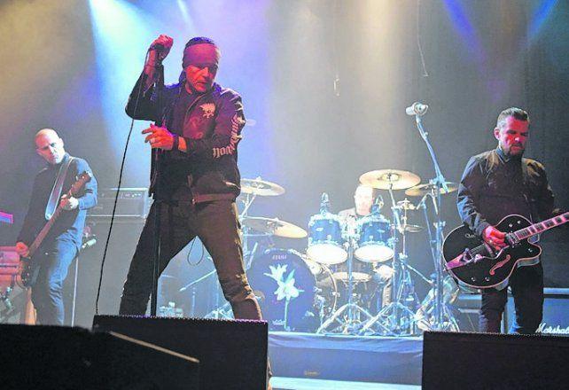 volvió The cult. La banda liderada por Ian Astbury sacudió Metropolitano.