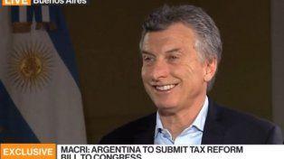 Macri concedió una entrevista en inglés y admitió estar abierto a un nuevo mandato