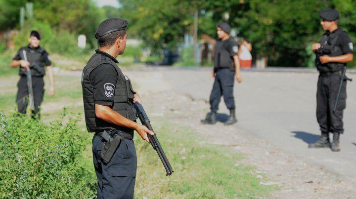 El procedimiento policial tuvo lugar en la zona norte.