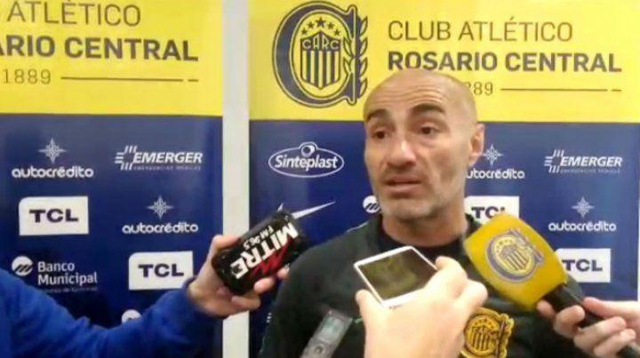 El entrenador de Central