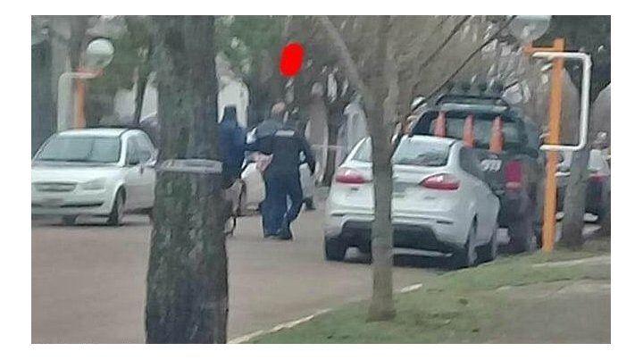 El operativo se realizó esta mañana en la localidad de Los Cardos. (Foto: gentileza portalpellegrinense.com.ar)
