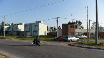 Tierra de nadie. El barrio está en Baigorria y Circunvalación.