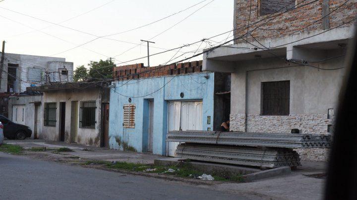Rueda al 4300. Allí mataron en noviembre de 2015 a Juan Carlos Sánchez.