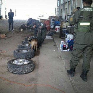 El operativo fue llevado a cabo por efectivos de Gendarmería Nacional.-