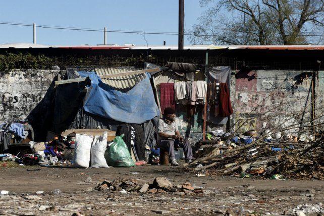 Precariedad. El Indec difundió esta semana los índices de pobreza e indigencia del primer semestre.