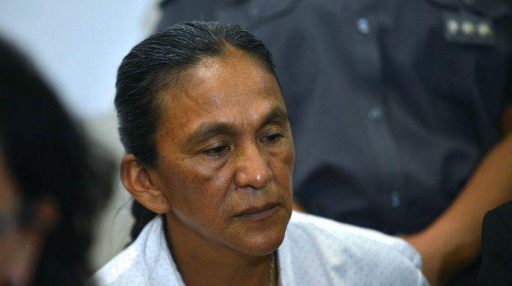 La líder de la organización social Túpac Amaru permanecía anoche en el inmueble del barrio El Carmen.