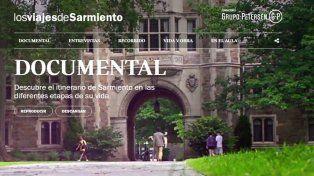 Un recorrido virtual para conocer la vida y obra de Sarmiento