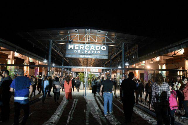 Flamante. El Mercado del Patio empieza a cambiar el barrio Agote.