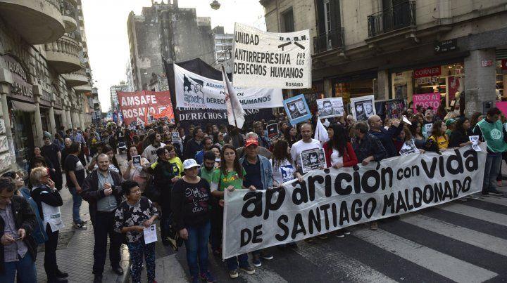 A dos meses. En Rosario habrá una movilización al Monumento a la Bandera.