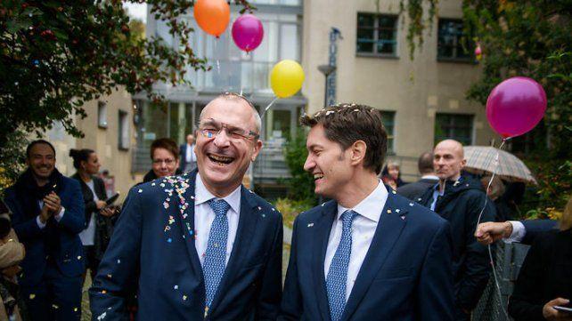 Parejas gays y lesbianas se casan en Alemania